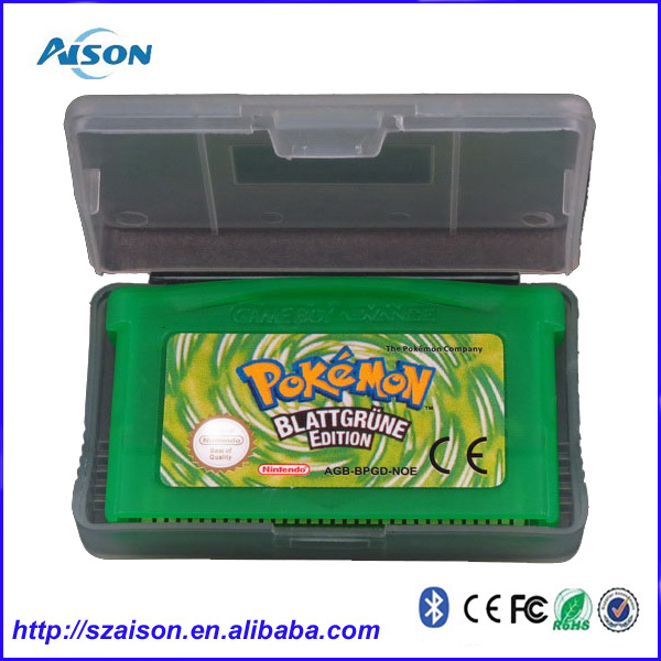 Best Selling Pokemon Game Cards for GBA Game Consoles