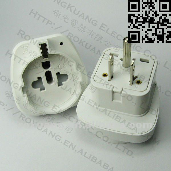 Wdsgf-5 Usa Travel Adapter,Travel Adapter With Earthed,European ...
