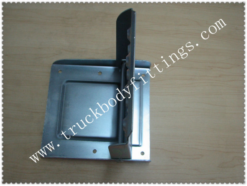 folding van step handle