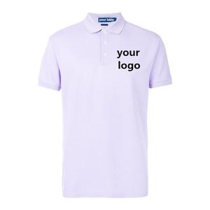 Custom made new design mens short sleeve polo t shirt custom logo polo shirt