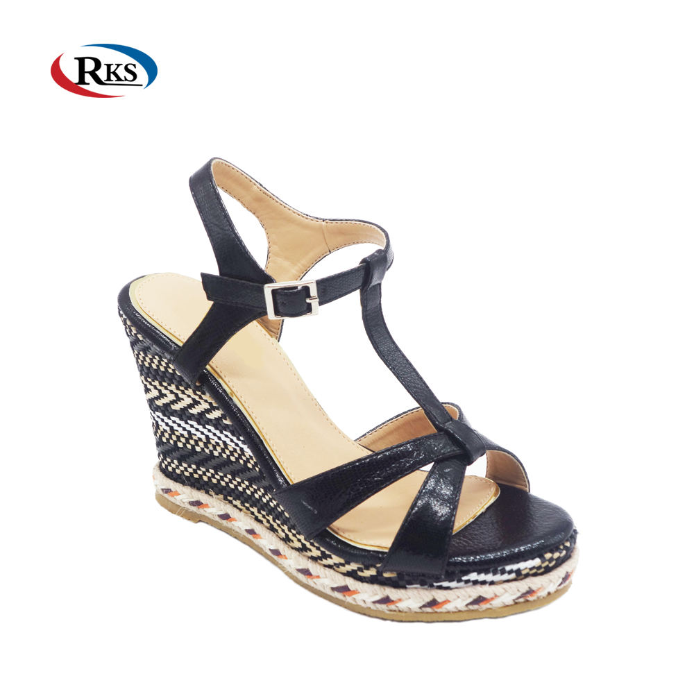 15da2cfb263 2018 New Arrival Shoes Women Heel Wedge Platform Espadrilles Shoes ...