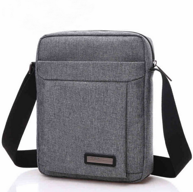 Fashion portable lightweight shoulder bag men messenger waterproof laptop bag