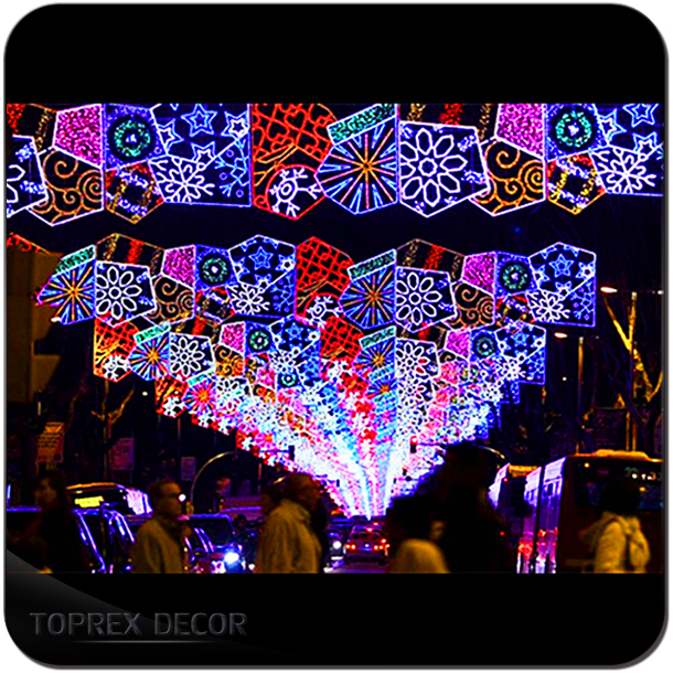 2017 New Year Decoration Outdoor Used Commercial Larg
