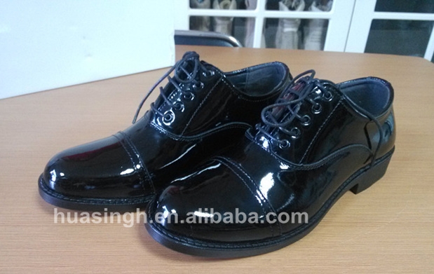 shining patent leather military uniform black oxford office shoes Italy  style ad88fd18c