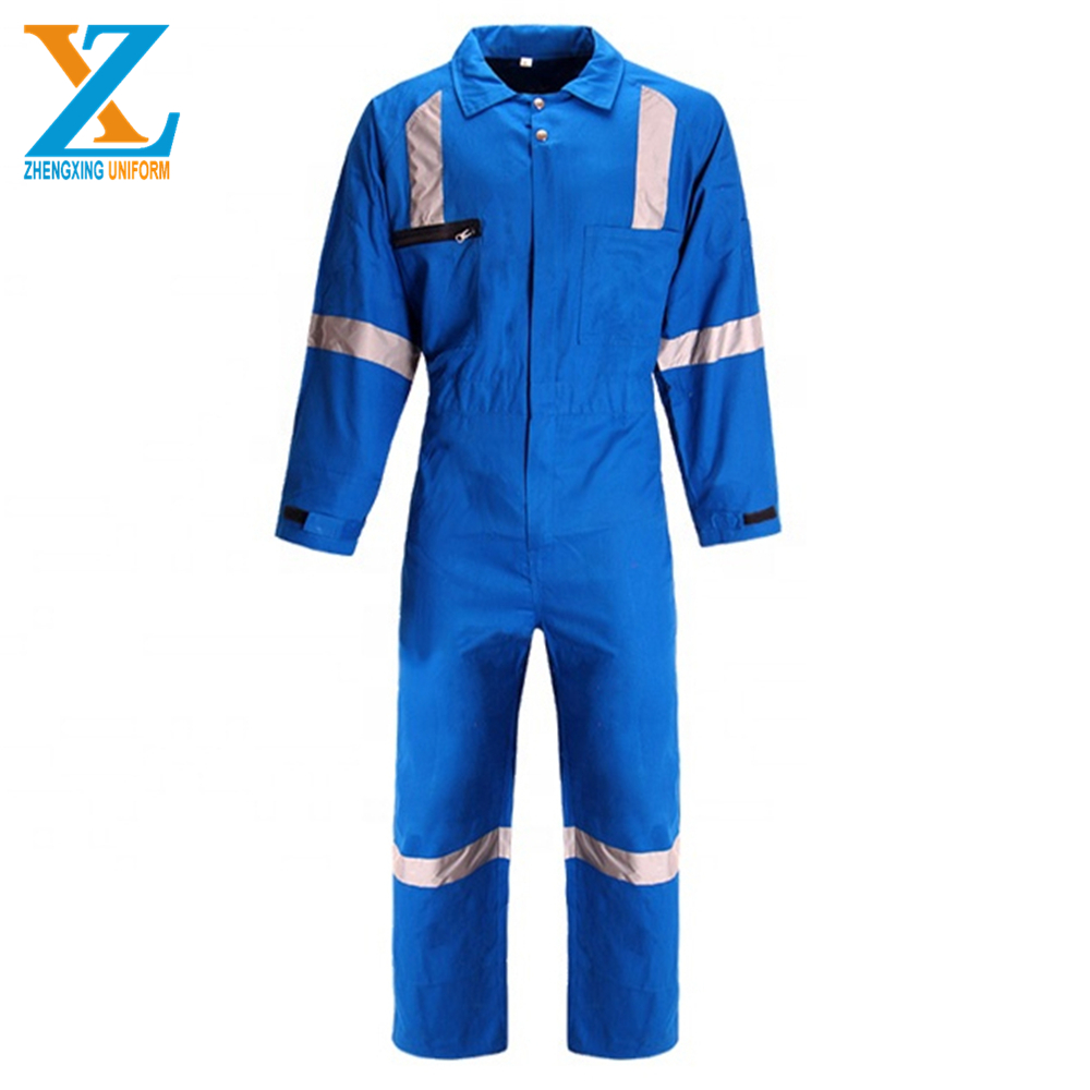 88% Cotton 12% Nylon Fire Retardant Coverall For Workers Uniforms