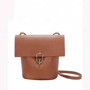 China supplier crossbody female leather bags shoulder sling messenger bags of ladies bag 2018