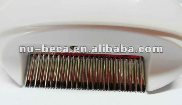 9f49839c1cc4ae Électrique poux peigne   anti nit et anti poux peigne   peigne à poux en  acier