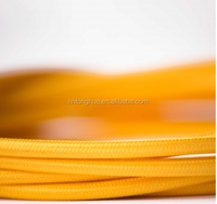 Light Yellow 2/3 core Fabric Covered Cord Cable Electric Wire