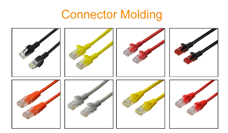 SIPU wholesale high quality flat cat6 pvc patch cable