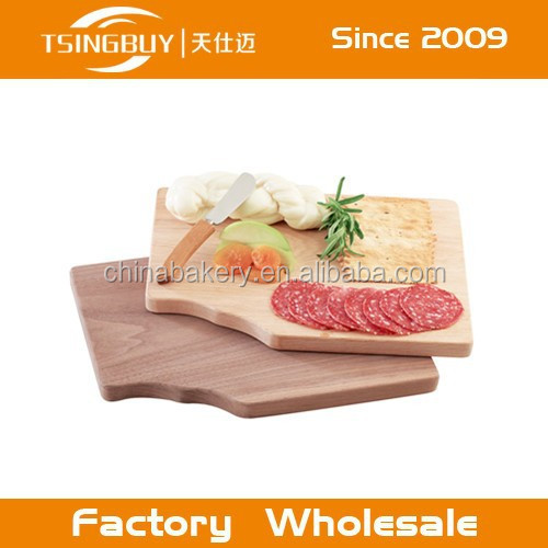 Wholesale handcraft 100% natural wooden pizza peel non stick custom size manufacture