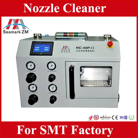 automatic nozzle cleaning machine for YAMAHA SUMSANG SMT pick and place nozzle