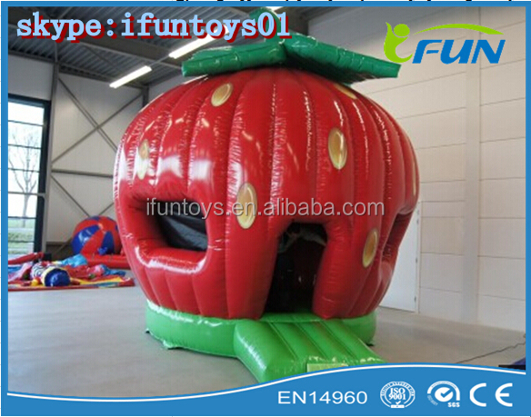 inflatable strawberry dome / inflatable strawberry tent for sale / small tent strawberry