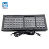 Pos Keyboard 84 Keys Programmable USB PS/2 With Smart Reader