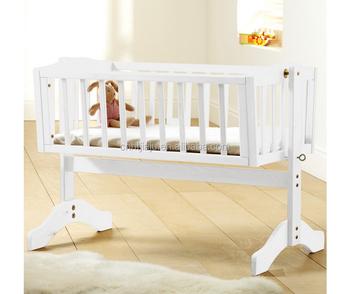 Baby Schommel Bed.Warm Te Koop Houten Bed Ontwerpen Massief Grenen Cadle Baby Schommel