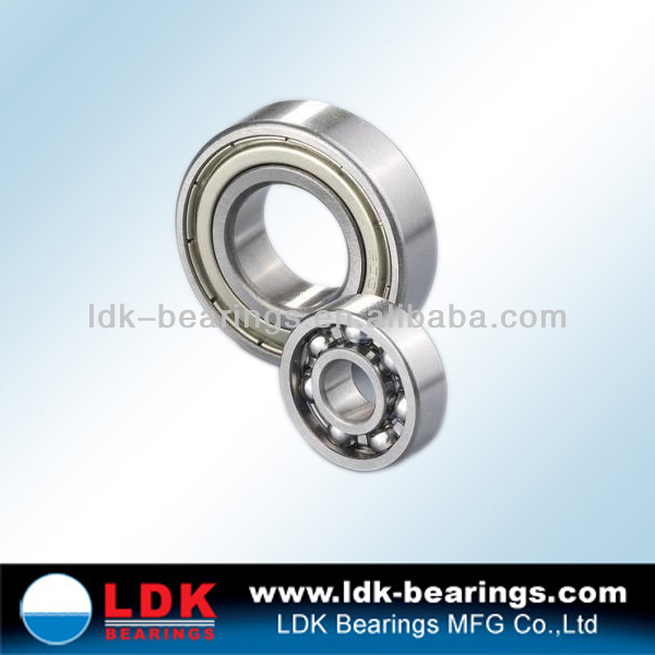 LDK high precision deep groove ball bearing
