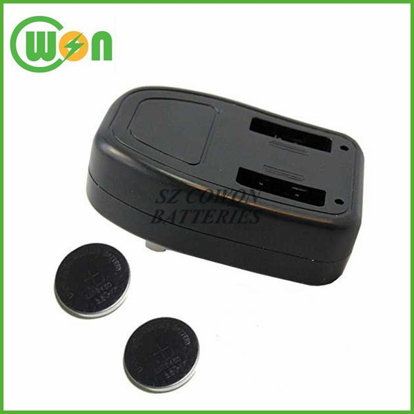 LIR2032 battery Charger for Lithium ion button cell CR2032