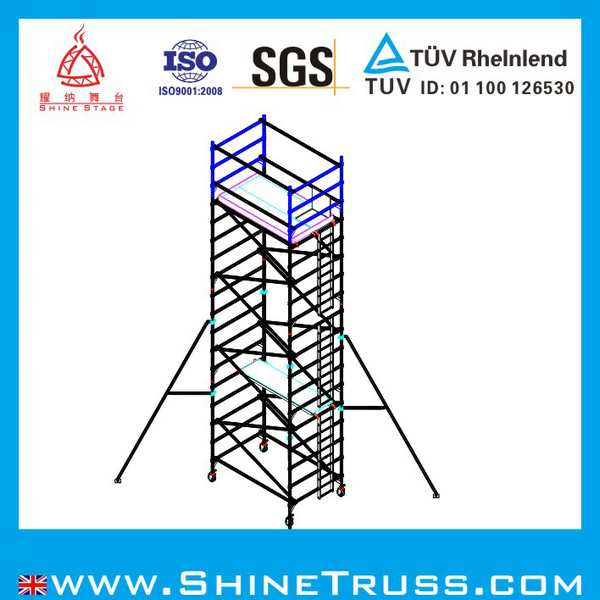 Aluminum Scaffold Parts : Aluminum high way working scaffolding parts buy