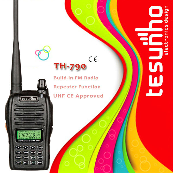 TESUNHO TH-790 wholesale CE approval long range handheld construction high tech business walkie talkie