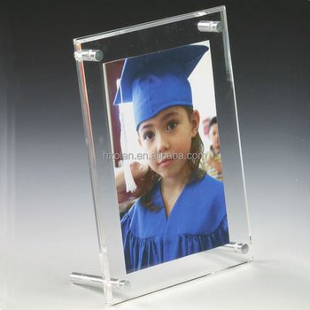 Factory Homemade Cute Baby Picture Frames Display Stand A5 Acrylic