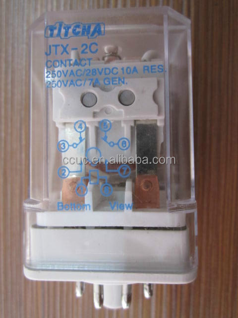 electromagnetic relay JQX-10F-2C JTX-2C small relay
