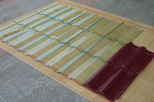 Kerala Transparent Glass Roof Tiles Prices For Sale