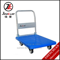 2016 New Noiseless Trolley Hand Cart (a layer of folding armrest )/One handle/Foldable Handle