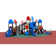 Small Amusement Park Commercial Plastic Outdoor Playground Equipment