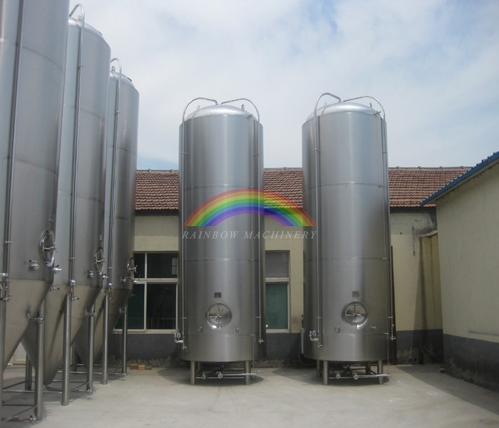 1000L Craft brewery equipment/pressurized conical beer fermenter
