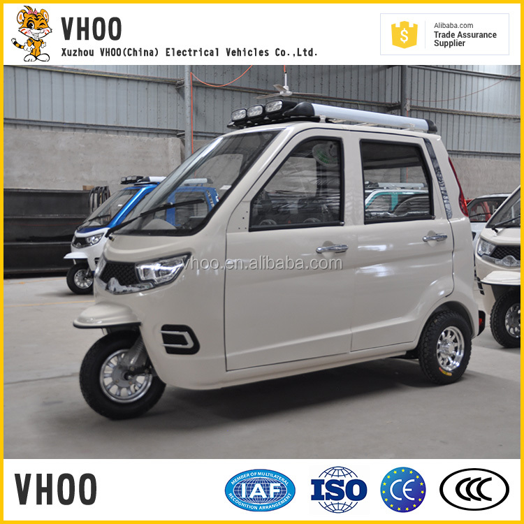 enclosed newest for passenger seat/closed electric tricycle/factory fashion model pedicap/3 wheels cycle