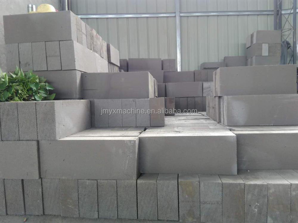 Non-autoclaved aerated blocks cellular lightweight concrete