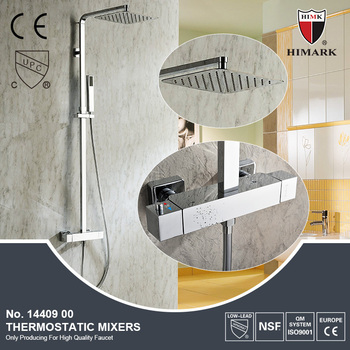 stand up shower faucet. Stand up bath room set anti scalding thermostatic shower faucet with CE Up Bath Room Set Anti Thermostatic Shower Faucet