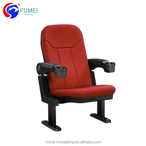Cheap theater furniture folding cinema hall chair