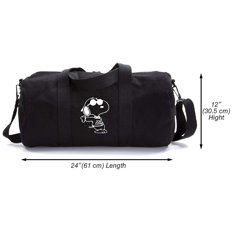 Snoopy Joe Cool Heavyweight Canvas Travel Backpack Bag