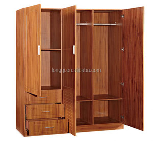 Cost-Effective First-Rate Quality Sedate Style 3 Door Cheap Wooden Baby Wardrobe