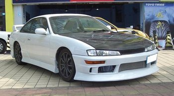 Silvia S14 D Style Facelift Version Front Bumper - Buy Body Parts Product  on Alibaba com