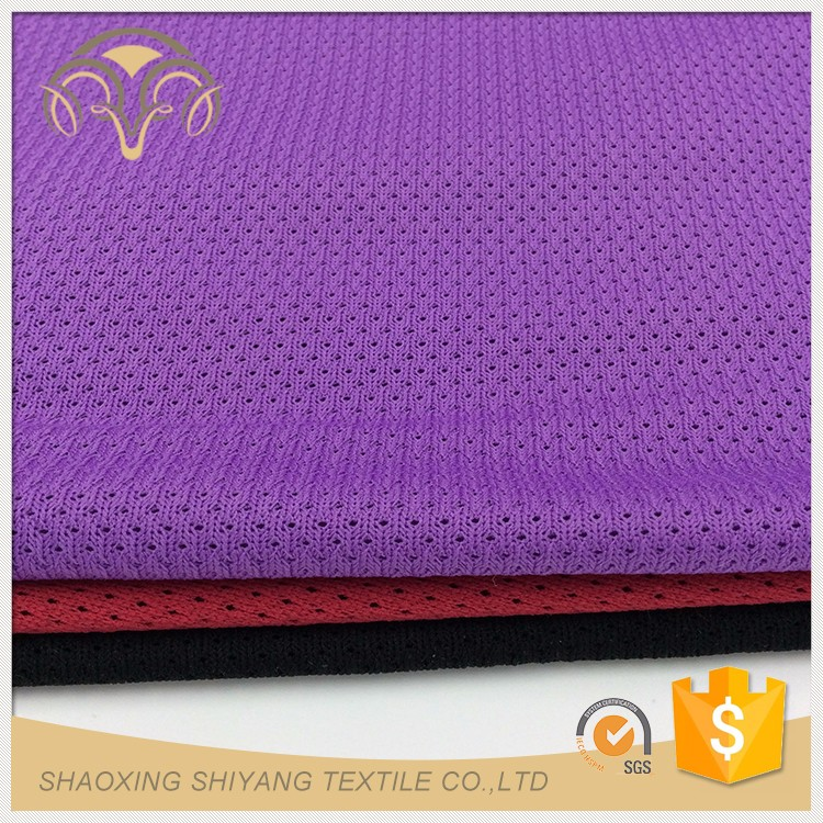 Customized China supplier shoe upper fabric mesh