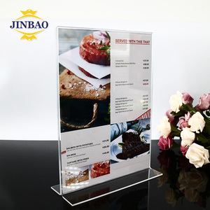 JINBAO good quality home decor customized size color stand art acrylic 3d frame