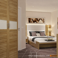 OPPEIN modern project luxury hotel bedroom furniture