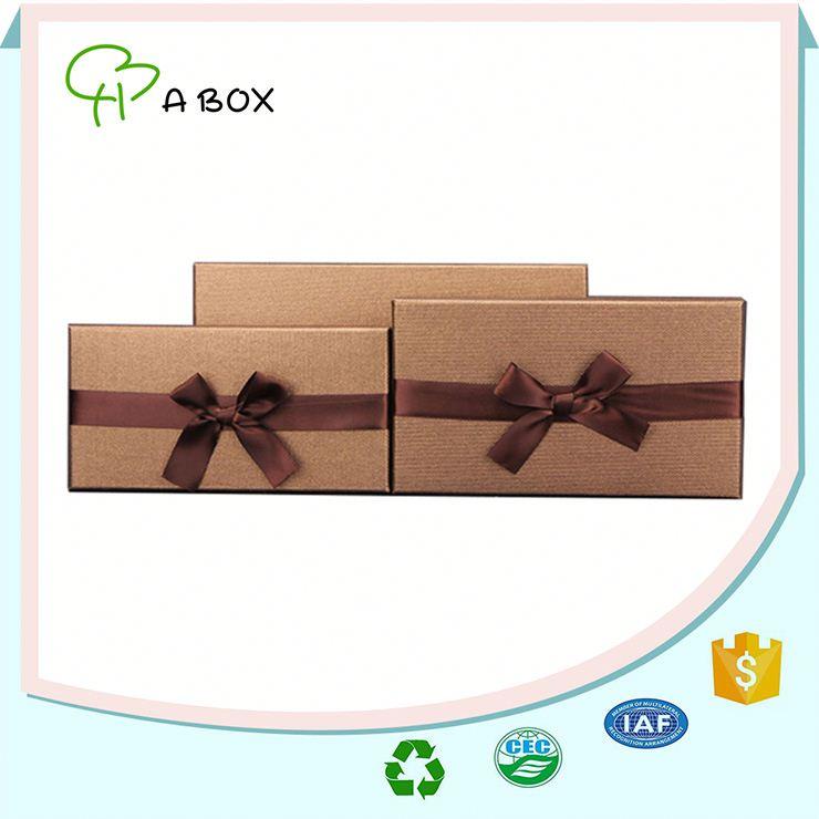 professionnel design personnalis bo te cadeau en carton avec ruban caisses d 39 emballage id de. Black Bedroom Furniture Sets. Home Design Ideas