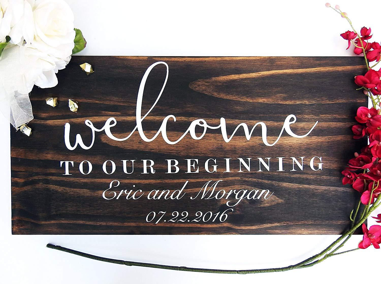 Welcome Wedding sign Welcome sign wedding sign, wooden sign Welcome wedding, Wooden Welcome Sign, wood wedding sign welcome sign .sign#144