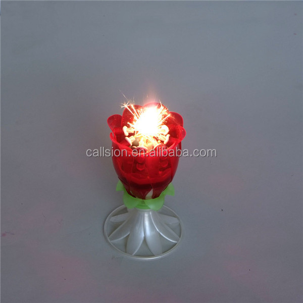Guangzhou wholesale festival birthday cake firework birthday candle