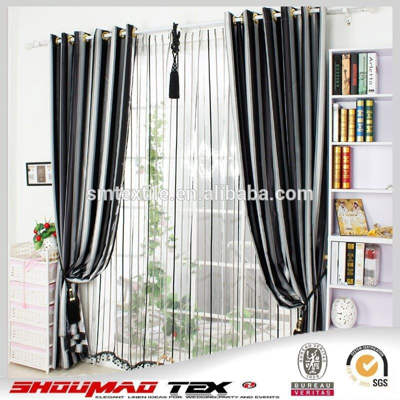 Latest curtain designs hotel blackout fabric for curtain - Latest curtain design for living room ...