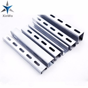 Steel structure as1163 cold formed steel hollow section galvanized c  channel cold formed steel purlin