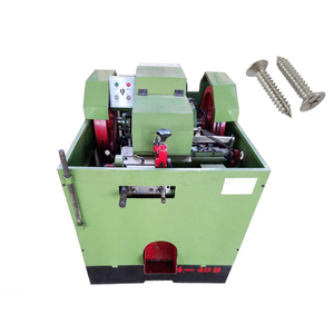 Automatic High Speed Nut Screw Making Machine