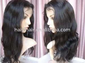 Indian Natural Wavy lace wigs