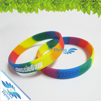 Hand Bracelet Silicone Wristband Rubber Funny Band
