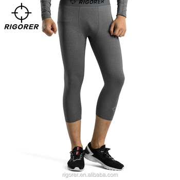 Wholesale Workout Legging Mens Quick Dry Legging Pants for Sport and Exercise