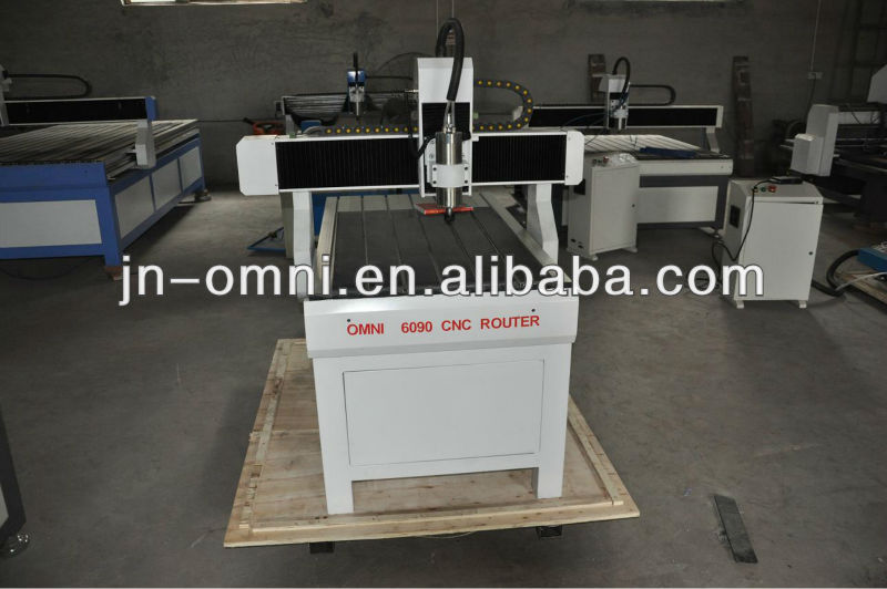 High accuracy wood engraving&cutting cnc router for ad