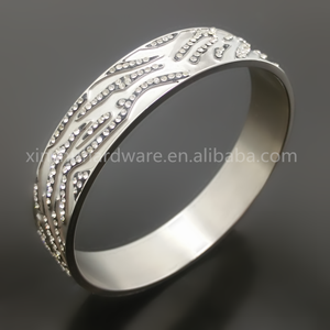 Fashion Cut Diamond Jewelry Bangle, Bridal Handmade Big Bangle Indian Jewelry, Wholesale Africa Bangle Jewelry