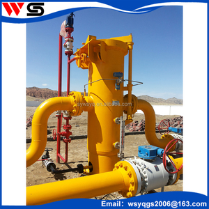 Customize and Design Vertical solid Gas liquid filter separator according working condition